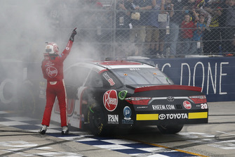 Race winner Christopher Bell, Joe Gibbs Racing, Toyota Camry Rheem