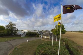 Cuartel general de Renault F1