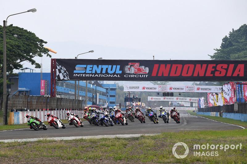 Race 2 SuperSports 600cc ARRC Sentul 2018