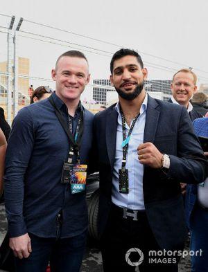 Wayne Rooney, footballer, Amir Khan, boxer