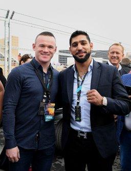 Wayne Rooney, futbolista, Amir Khan, boxeador