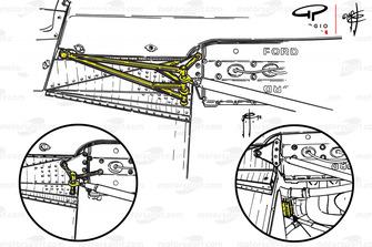 Задняя подвеска McLaren M23