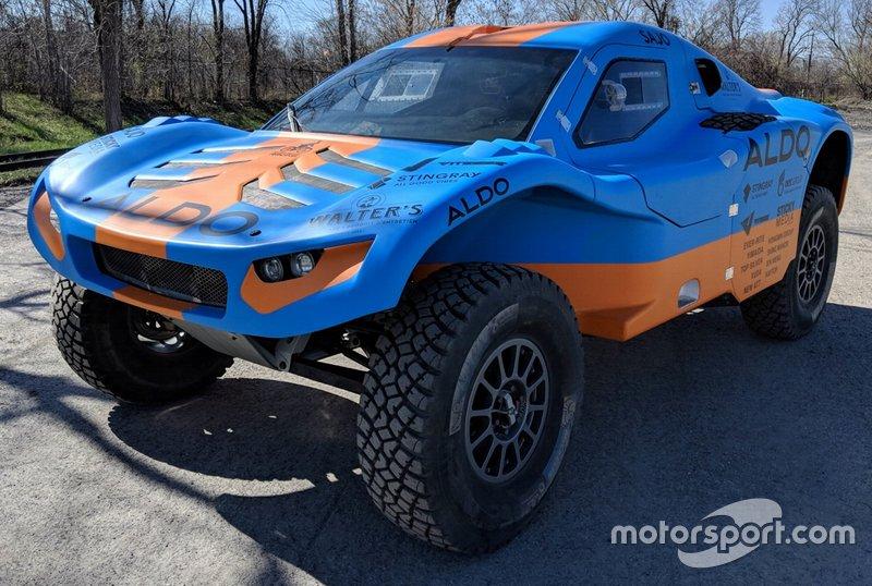 CR6 Yarış aracı