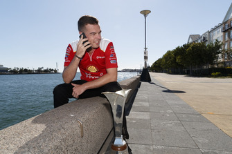 Scott McLaughlin, DJR Team Penske Ford with his trophy