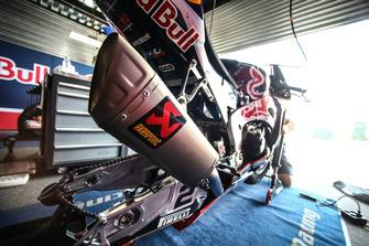 La moto de Leon Camier, Honda WSBK Team