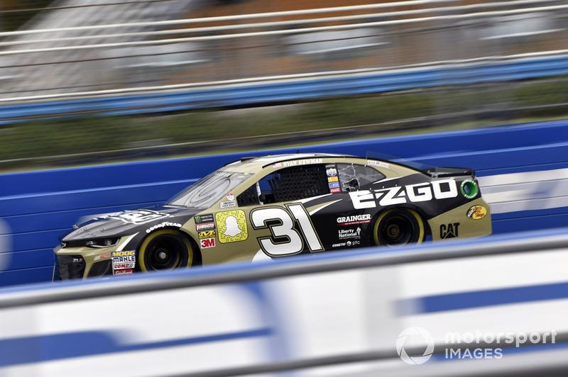 8. Ryan Newman, Richard Childress Racing, Chevrolet Camaro E-Z-GO