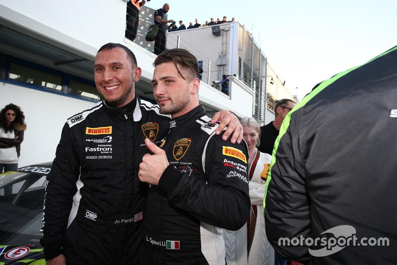 Lamborghini Huracan Super Trofeo #71, P1 Motorsport: JC Perez,Loris Spinelli