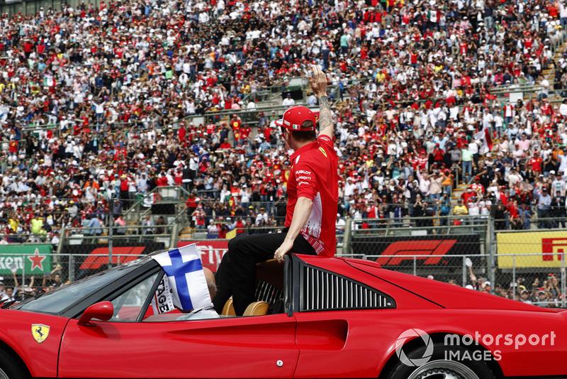 2 місце — Кімі Райкконен, Ferrari