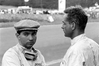 Ricardo Rodriguez, Ferrari; Phil Hill, Ferrari