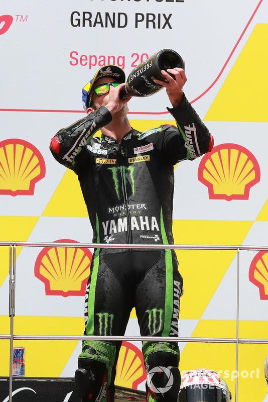 Подіум: третє місце Жоанн Зарко, Monster Yamaha Tech 3