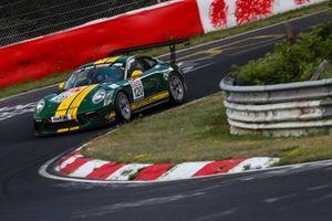 #120 Porsche 911 GT3: Cup: Georg Goder, Dirk Lessmeister, Martin Schlüter