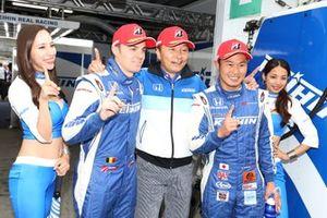 Polesitter #17 Keihin Real Racing Honda NSX-GT: Koudai Tsukakoshi, Bertrand Baguette