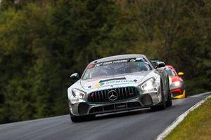 #162 BLACK FALCON Team IDENTICA Mercedes-AMG GT4: Tobias Müller, Tim Scheerbarth, Tristan Viidas, Yannick Mettler