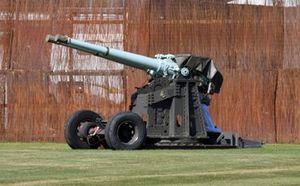 Pistolas de 4 pulgadas HMS Devonshire