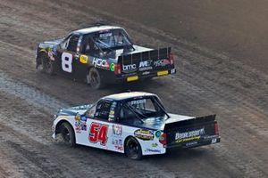 Colt Gilliam, NEMCO Motorsports, Chevrolet Silverado Business Machines Company/Hoopaugh Grading and Kyle Strickler, DGR-Crosley, Toyota Tundra DGR-Crosley Driver Development