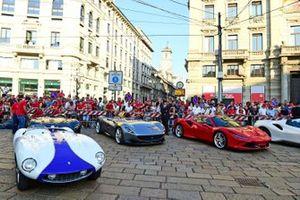 Ferrari cars lineup