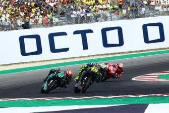 Valentino Rossi, Yamaha Factory Racing, Franco Morbidelli, Petronas Yamaha SRT, Andrea Dovizioso, Ducati Team