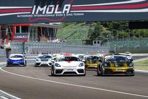 Porsche GT3 Cup Challenge et Porsche Sports Cup Suisse, départ