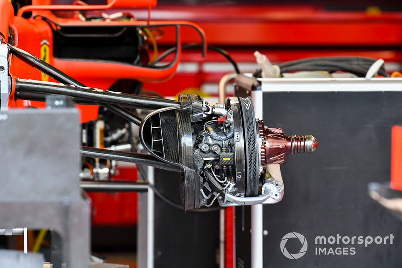 Front brake of Ferrari SF90
