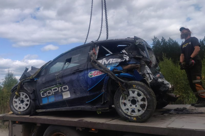 L'incidente di Hayden Paddon, M-Sport