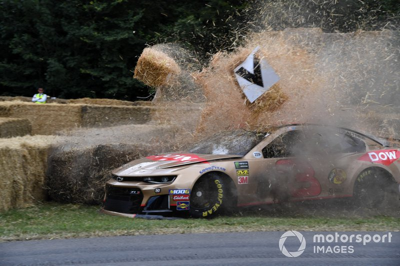 Accidente del Chevrolet Camaro Andy Pietree