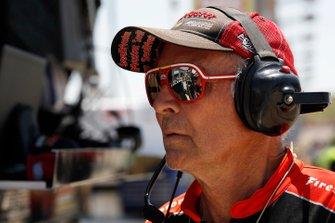 Sebastien Bourdais, Dale Coyne Racing with Vasser-Sullivan Honda bandtechnicus Kenny Szymanski