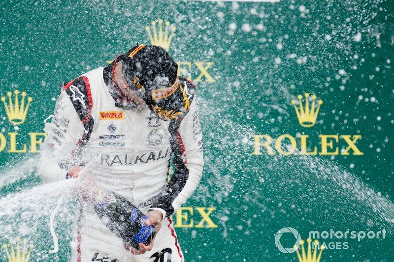 El ganador: Leonardo Pulcini, Hitech Grand Prix
