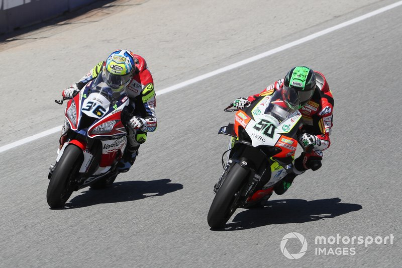Leandro Mercado, Orelac Racing Team, Eugene Laverty, Team Go Eleven