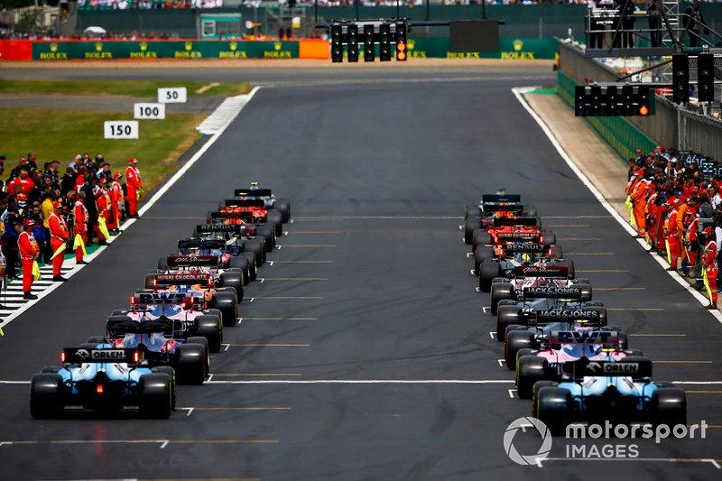 2- GP de Gran Bretaña: 19 de julio (a puerta cerrada)