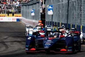 Sam Bird, Envision Virgin Racing, Audi e-tron FE05, Maximillian Gunther, GEOX Dragon Racing, Penske EV-3, Antonio Felix da Costa, BMW I Andretti Motorsports, BMW iFE.18