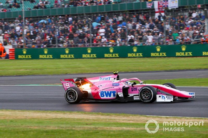 En 2019, Hubert subió a la F2 con el equipo BWT Arden, equipo con vinculo de HWA.