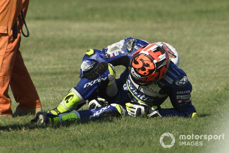 Caída de Tito Rabat, Avintia Racing