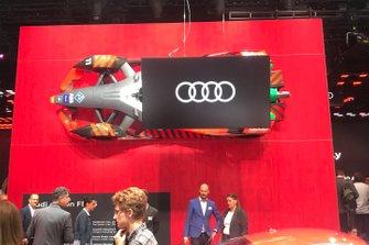 Monoposto della Audi al Salone di Francoforte