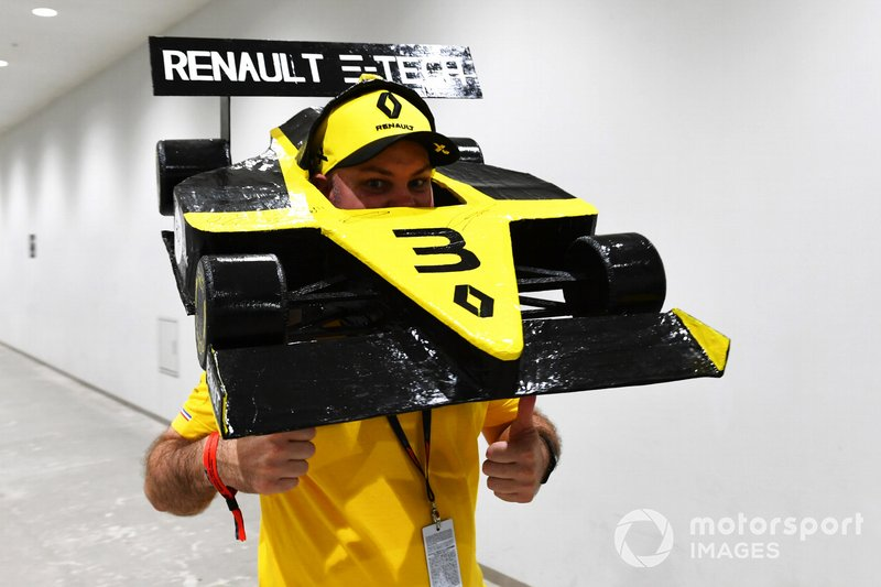 Fan del team Renault F1