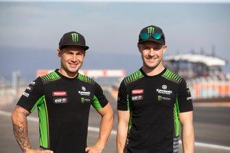 Leon Haslam, Kawasaki Racing Team, Jonathan Rea, Kawasaki Racing Team