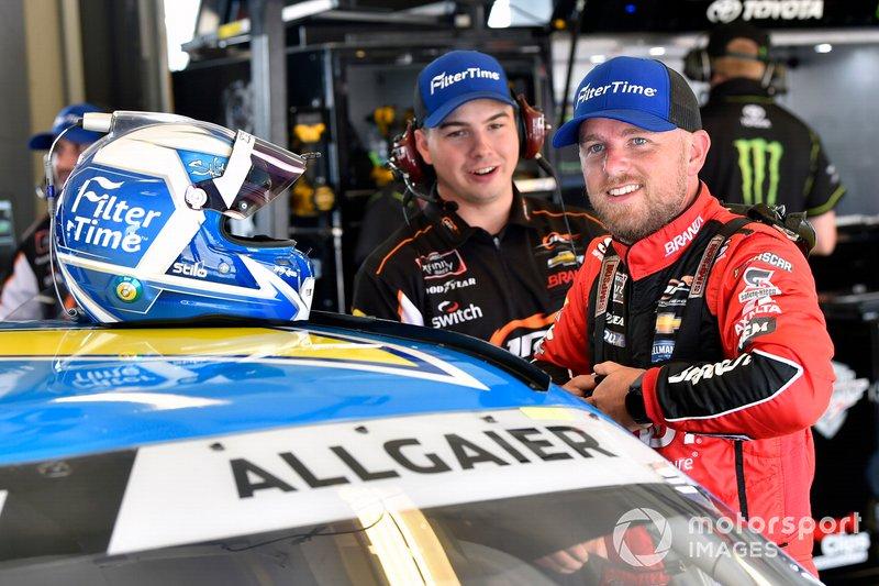 Justin Allgaier, JR Motorsports, Chevrolet Camaro FilterTime