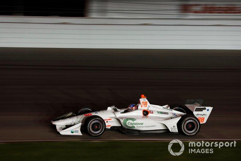 9. Colton Herta, Harding Steinbrenner Racing Honda