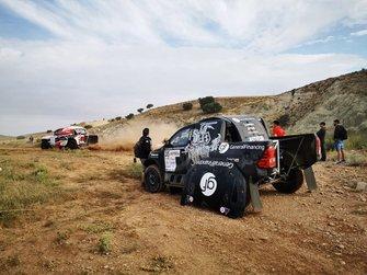 Benediktas Vanagas, Sebastian Rozwadowski, Toyota Hilux