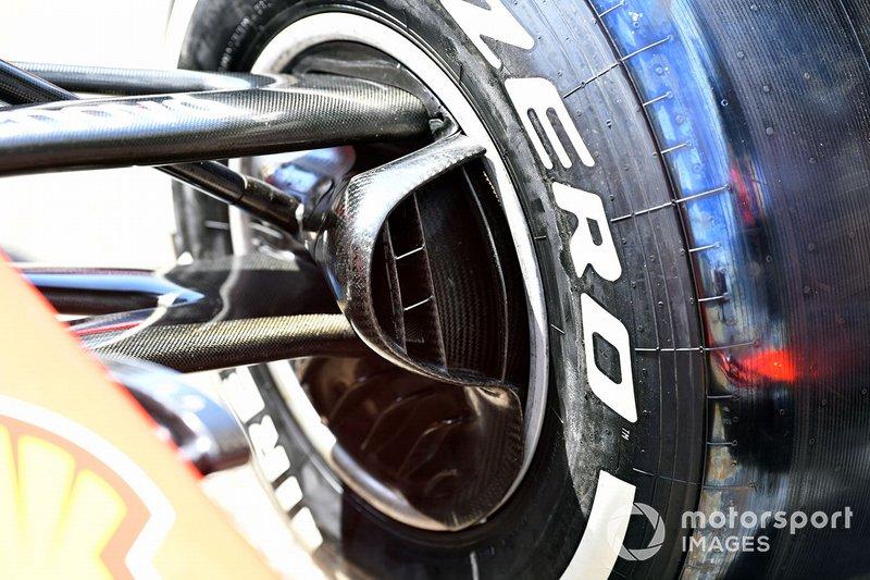Ferrari SF90: Bremskühlung vorne