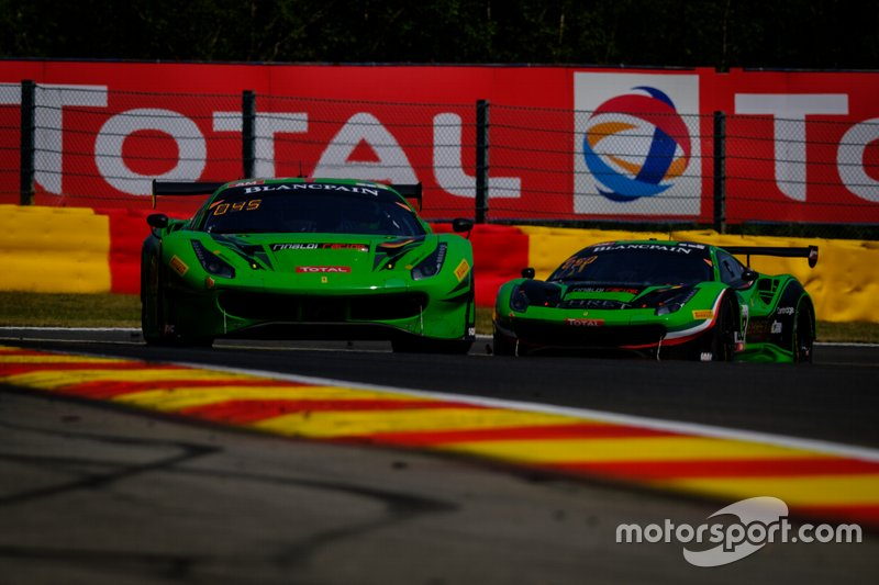 #488 Rinaldi Racing Ferrari 488 GT3: Pierre Ehret, Martin Berry, Jose Manuel Balbiani, Rory Penttinen