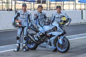 Michael van der Mark, Katsuyuki Nakasuga, Alex Lowes, Yamaha Factory Racing