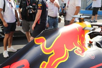 Red Bull Racing RB15 bodywork detail