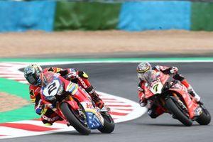Leon Camier, Honda WSBK Team, Chaz Davies, Aruba.it Racing-Ducati Team