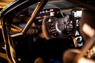 Ford GT Mk II steering wheel detail