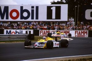 Nigel Mansell, Williams e Nelson Piquet, Williams