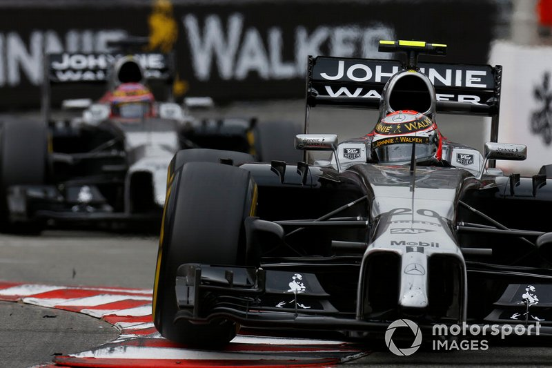 Kevin Magnussen, McLaren MP4-29, Jenson Button, McLaren MP4-29
