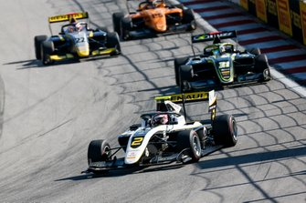Max Fewtrell, ART Grand Prix and Logan Sargeant, Carlin Buzz Racing