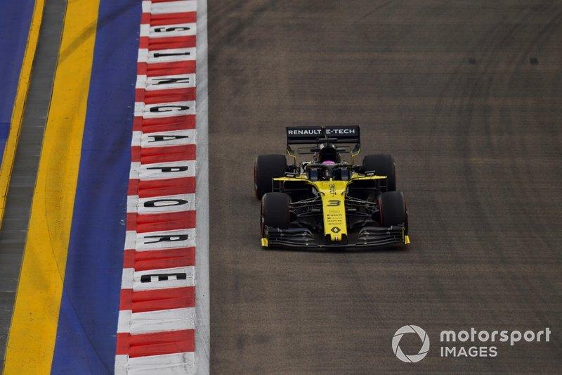 14 - Daniel Ricciardo, Renault R.S.19