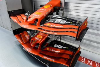 Front wing of Ferrari SF90