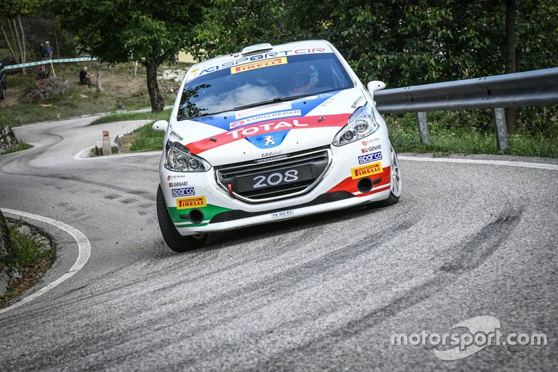 Tommaso Ciuffi, Nicolo Gonella , Peugeot 208 R2, FPF Sport